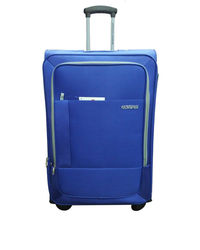 American Tourister Malta Bay Spinner 68 CM Blue, multicolor
