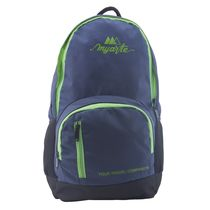 Myarte Power Laptop Bag, blue and parrot green