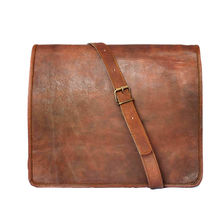 Rustictown Leather Messenger Bag, brown
