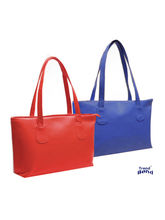 Trendbend Combo Of Red and Blue Handbag