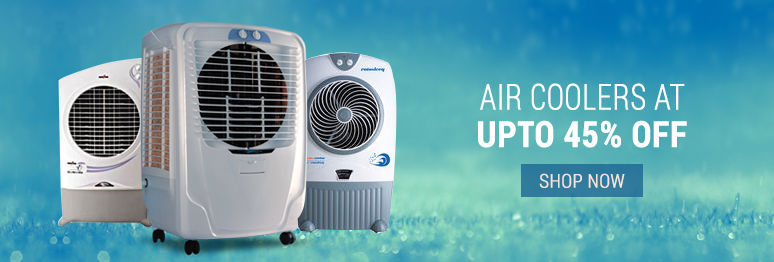 Air coolers at upto 45% off