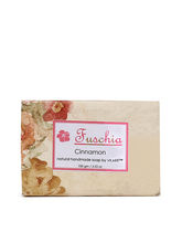 Fuschia Cinnamon Natural Handmade Herbal Soap, Bro...