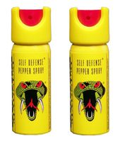 Cobra Magnum Pepper Spray Value Pack Of 2, 35 Ml
