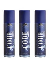 Vincent Valentine Set of 3 Code Fleur deodorants (160 ml each)
