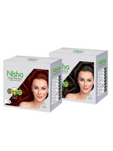 Nisha Color Perfect Hair Color- Pack Of 2 Colors