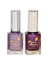 Anna Andre Enchanted Purple Nail Polish Set (Shade...