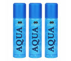 Vincent Valentine Set of 3 Aqua de Valentine deodorants (160 ml each)