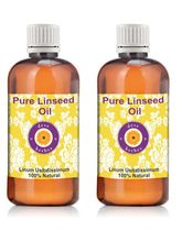 Deve Herbes Pure Linseed Oil - Pack Of Two (100ml+...