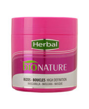 Herbal Bionature Rizos/Boucles High Definition Mask, 400ml