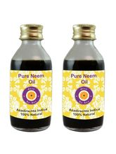 Deve Herbes Pure Neem Oil - Pack Of Two (100ml+ 10...