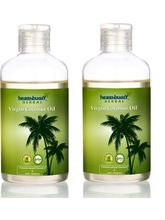 Healthbuddy Herbal Virgin Coconut Oil 2 Packs Of 200Ml Each