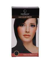 OXYGLOW Hair Colour Cream, 175gm, black