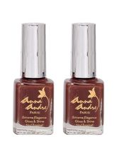 Anna Andre Set Of 2 Nail Polishes (Shade 80065 Hot...