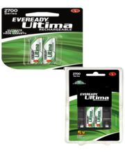 Eveready 2700 mAh AA Charger with 2 Battery+ 2700 mAh 2 AA Battery Set Combo (Multicolor)