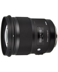 Sigma 50mm F1.4 DG HSM ART Lens For Canon,  black