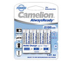 Camelion NH-AA2100ARBP4 Rechargeable Battery, multicolor