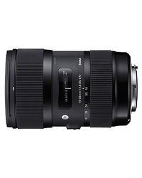 Sigma 18-35mm F1.8 DC HSM Lens For Canon,  black