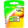 Godrej GP AAA 1000 mAh (2 Pcs) Rechargeable Battery (Multicolor)
