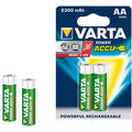Varta Power Accus 2AA Size Ni-MH 2300 mAH Rechargeable Battery