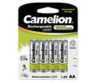 Camelion NC-AA1000BP4 Rechargeable Battery, multicolor