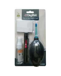 Digitek DCK-002 Five in One Digital Care Cleaning Kit, multicolor