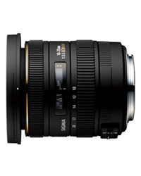 Sigma 10-20mm F3.5 EX DC HSM Lens For Canon,  black