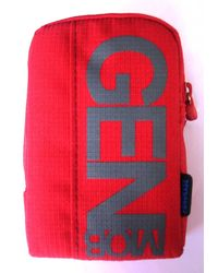 Fonokase Universal Signature Series Digi Cam Pouch, check design red