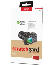 Scratchgard Ultra Clear Screen Guard for Olympus - VG170, clear