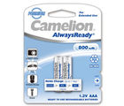 Camelion NH-AAA800ARBP2 Rechargeable Battery, multicolor