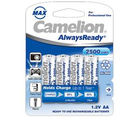 Camelion NH-AA2500ARBP4 Rechargeable Battery, multicolor