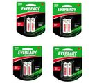 Eveready Ultima 600 mAh AAA 8 Pc Battery Combo, multicolor