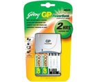 Godrej GP Powerbank M 520 (with 2 Pcs GP 2500 mAh AA batteries) Battery Charger (Multicolor)