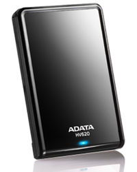 Adata HV620 External Hard Drive 1TB, multicolor