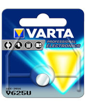 Varta V625U 1 1.5V Primary Alkaline Manganese (Packaging of 10 Blisters with 1 Cell each), multicolor
