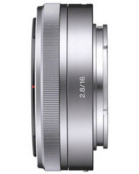 Sony 16mm Wide-Angle Lens,  grey