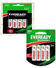 Eveready (AA+ AAA) Charger with 4 Battery+ 700 mAh 4 AA Battery Set Combo (Multicolor)