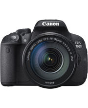 Canon EOS 700D DSLR With Kit II (EF S18-135 IS STM), Black