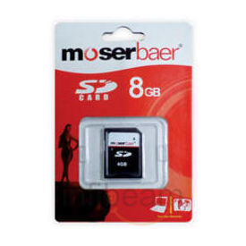 Moserbaer 8GB Class 4 SDHC Memory Card