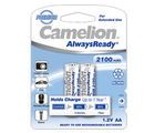 Camelion NH-AA2100ARBP2 Rechargeable Battery, multicolor