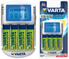 Varta Power LCD (with 4 AA Size Ni-MH 2100 mAh) Plug Charger (Multicolor)