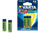 Varta Longlife Accus 2AA Size Ni-MH 2100 mAH Rechargeable Battery (Multicolor)