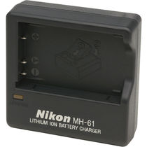 Nikon MH-61 Battery Charger, standard-black