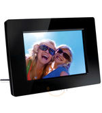 Philips SPF 1237 Digital Photo Frame (Black)
