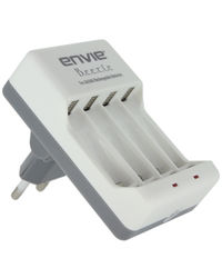 Envie ECR 20 Battery Charger For 2 or 4 AA/AA Rechargeable Batteries, multicolor