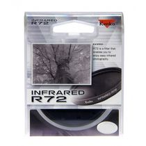 Kenko Infrared R72 52mm Lens filter,  black