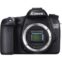 Canon EOS 70D (Body) DSLR,  black