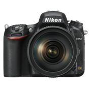 Nikon D750 (with 24-120mm VR Lens) DSLR Camera,  black