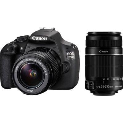 Save Rs 5,220 on Canon EOS 1200D DSLR Combo (18-55 IS II+ 55-250 IS II) at Infibeam Untitled.png.621695407e.999x400x400