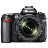 Nikon D90 DSLR (with AF-S 18-105mm VR Kit Lens) (Black)