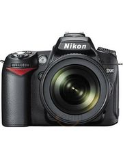 Nikon D90 SLR (with AF-S 18-105mm VR Kit Lens)
